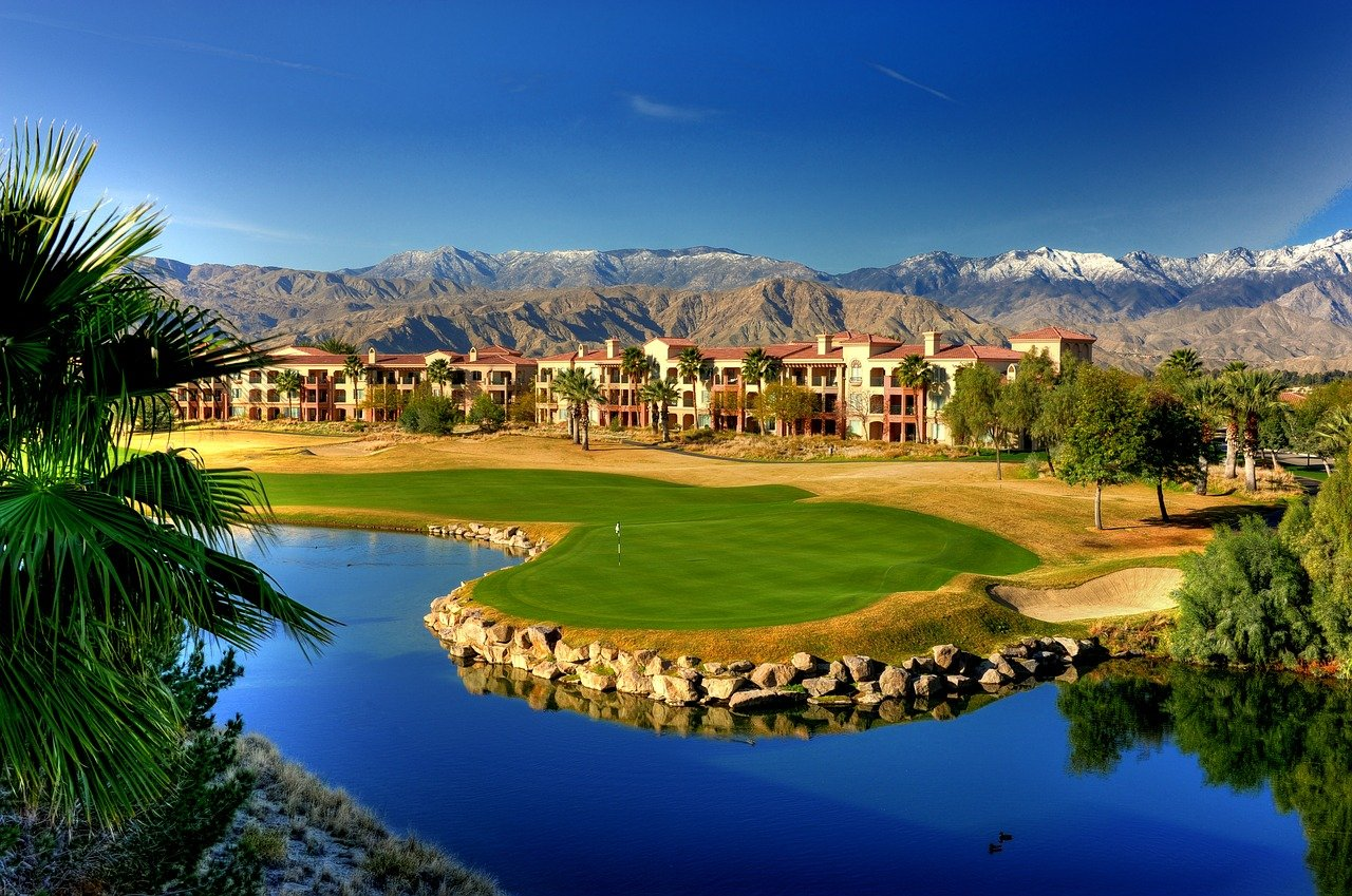 綺麗なゴルフ場