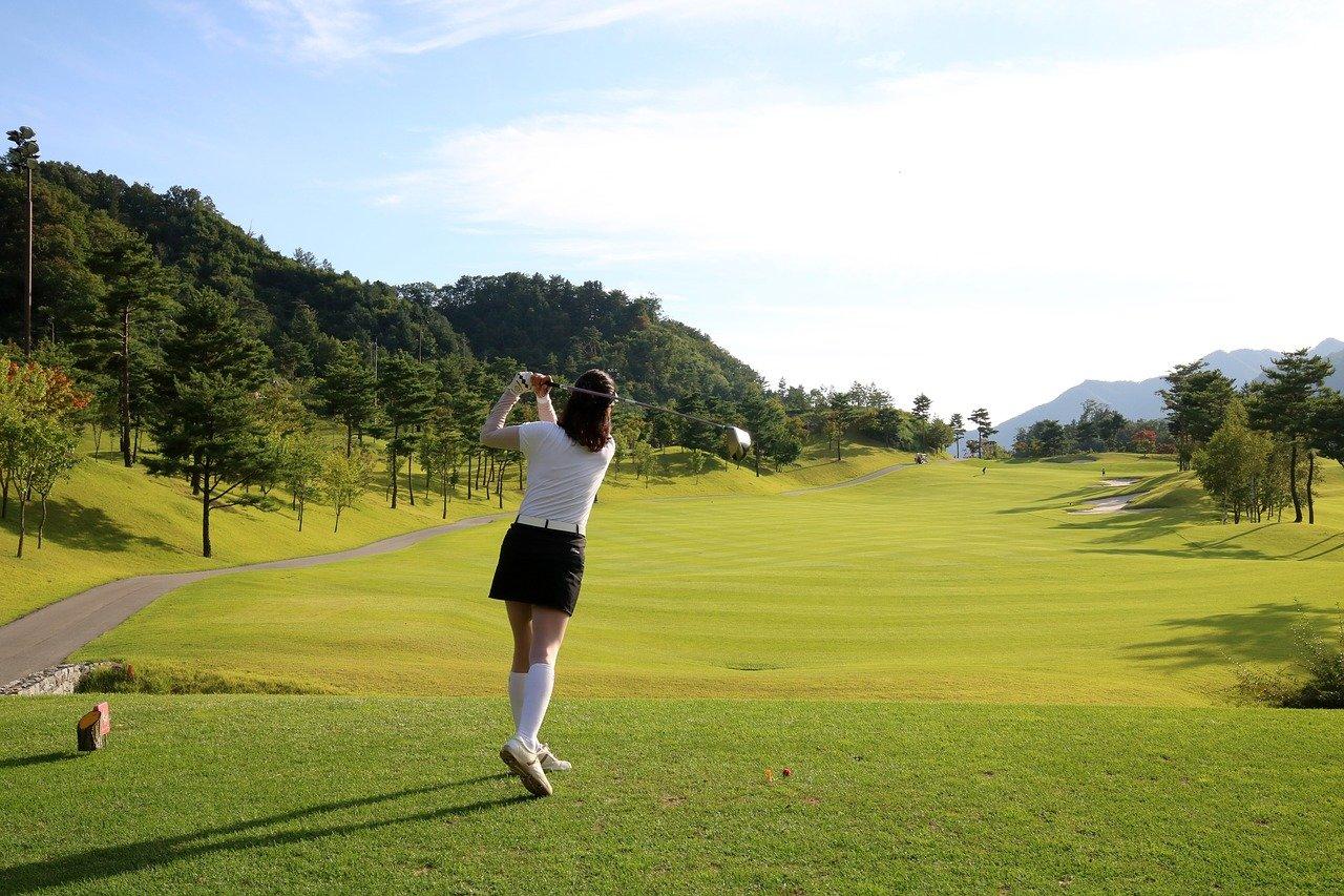 100切りゴルフ女子