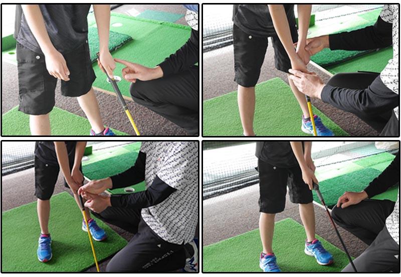 子供のゴルフの教え方