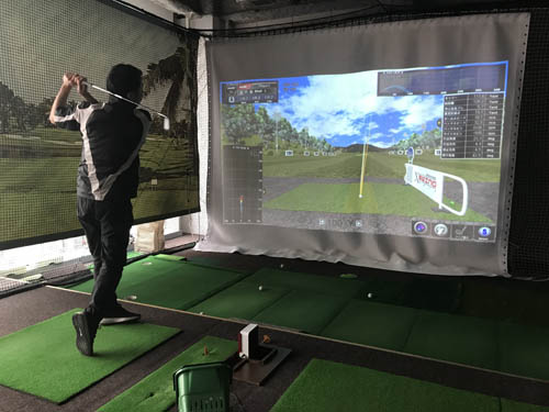 シミュレーションゴルフは誰でも利用可