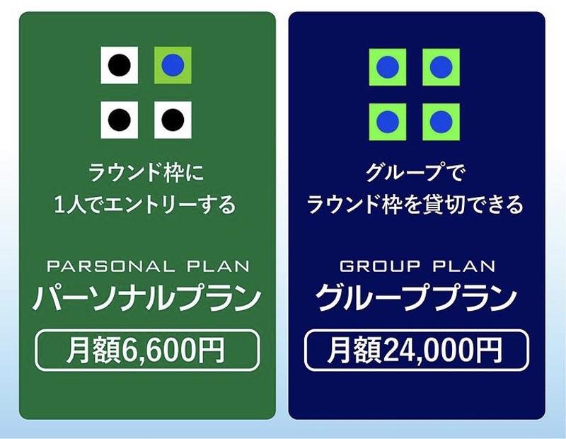 関西のゴルフサブスクマッシュアップゴルフ